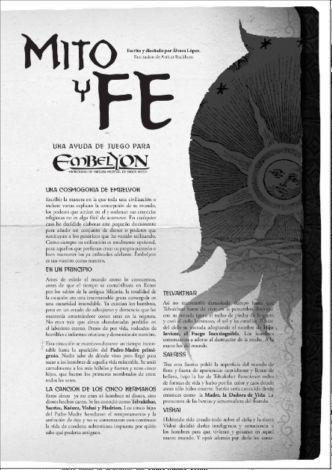 Embelyon - Cosmogonía: Mito y Fe